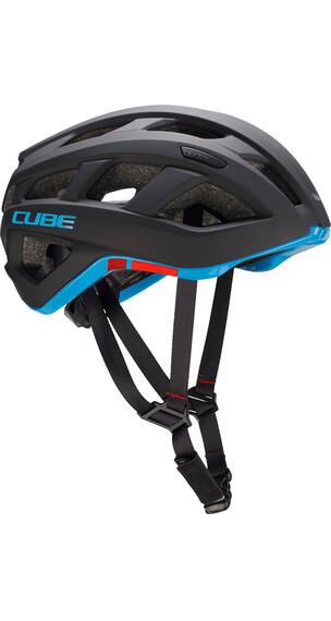 Cube Roadrace Hjelm blå/sort